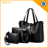 3 in 1 Fashion Women PU Leather Handbag Shoulder Bag Tote Bag Purse Bags Set