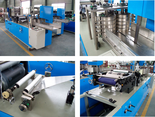 Automatic Color Printing Paper Napkin Tissue Making Machine