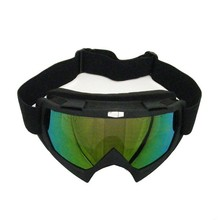 BJ-MG-001A Special Design Tined Lens Black Scooter ATV Fox Goggles Motorcycle