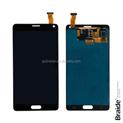 Factory price 12 months warranty for samsung galaxy note 4 lcd touch screen digitizer display assembly