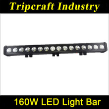 160w Ip67 10-48V 13600LM 28inch IP67 High Quality led light bar cover for vehicle offroad boat car