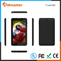 Wholesale Adreamer Support 3G/WIFI/Bluetooth 7 Inch Black Tablet PC