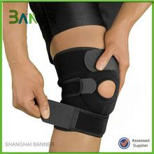 Top Quality Black sports injury preventive support Neoprene Knee Brace