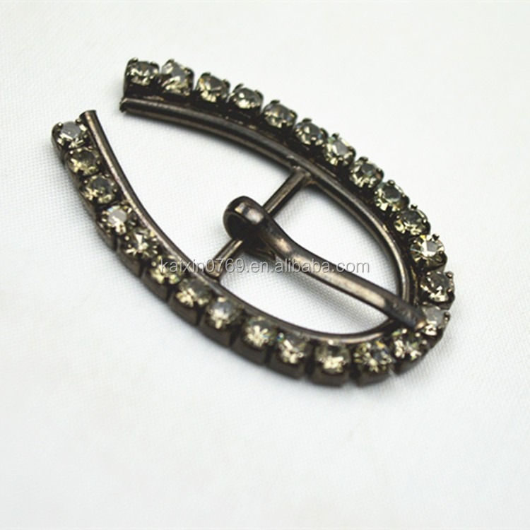 Cheap wedding rhinestone ribbon slider garment buckles