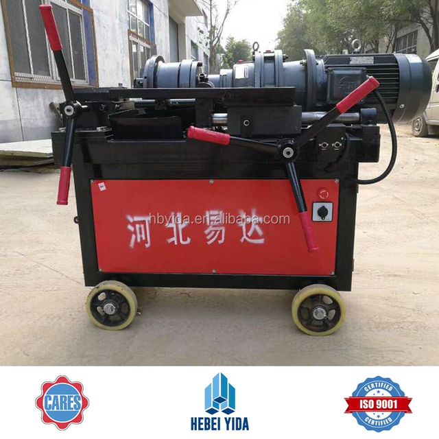 Hebei Yida BTS-2 Rebar End Parallel Threading Machine for Upset Forging End Bar