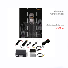 two side warning lights special blind spot monitor assist system for safe driving