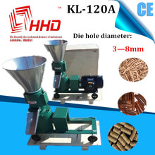 Top sell KL-120A chicken pellet mill machine/poultry farming equipment
