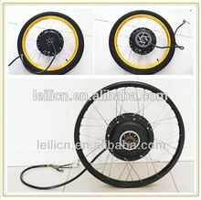 72V 5000W Gearless Hub Motor/Electric Fat Bike DIY Conversion Kits fat ebike rim with colorful display