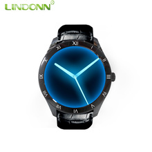 2017 New 3G 4G Android Smart Watch Phone With GPS WIFI SOS Heart Rate Mobile Phone 1.39'' AMOLED Round HD Screen CE ROHS Verify