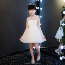 Infant Girls Dresses Ball Gowns White Tulle Flower Girls Pageant Dress