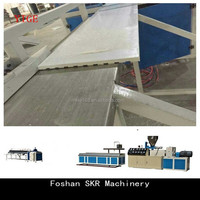 Chinese artificial marble stone plastic extrusion machine line manufacturer
