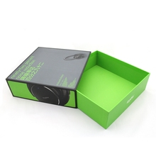 Free design paper headphone box packaging with drawer