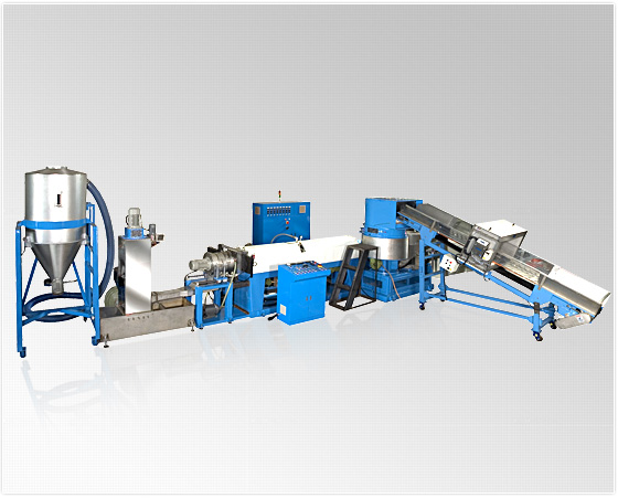 Shredder Type Die-Face Cutting Recycle Machine