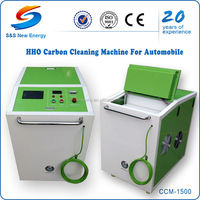 oxyhydrogen generator car care equipment/engine oil carbon remover/ carbon cleaning system