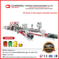 high quality plastic extruder tpu sheet making machine