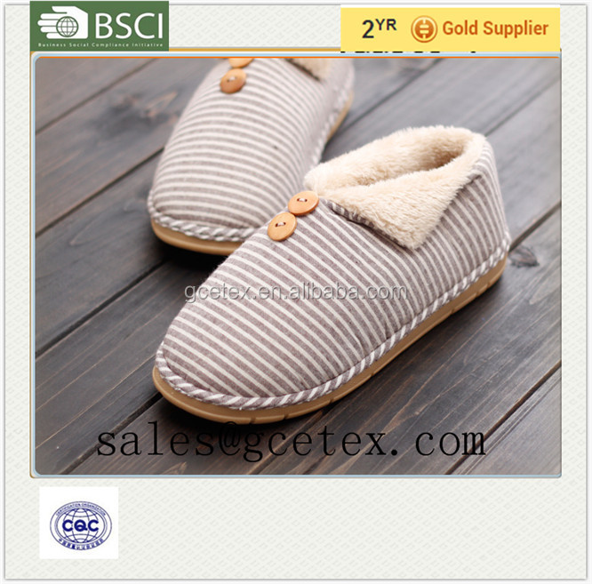 GCE1183 2015 Winter indoor foot warmers cashmere soft fashion design <strong>slippers</strong> in Japan