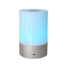 3w Smart dimmable cylinder aukey atmoshere living room mood led top touch lamp lighting
