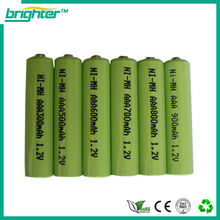 Hotsale aaa nimh battery gp 600mah 1.2v