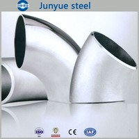 china wholesale price ASME B16.9 60 degree elbow stainless steel pipe fitting