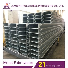 Galvanized Steel Bracket Welding And Steel Structural Fabrication Service