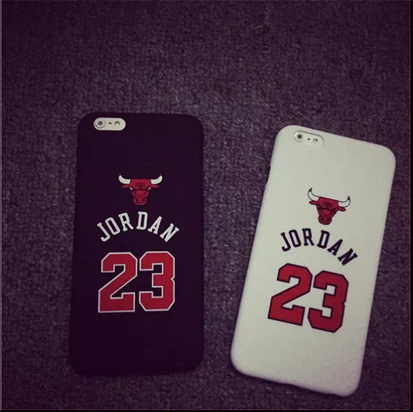 No.23 Jordan Basketball PC Cover Case For iPhone 5 5s 6 6 plus Jumpman Sports Phone Cases