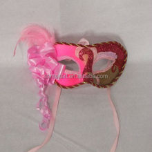 Handcraft flower feather venetian party mask