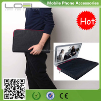 "Fasion Jeans+velvet handbag For Macbook Pro13"";Bag For ipad Macbook Air Pro 9.7/11/12/13/15Inch Case Cover for man"