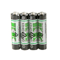 Environmental R03 AAA um4 zinc Carbon ZnMn battery Blister card 0% Cd/Pb/Hg Outperforms 7# 1.5v dry Battery