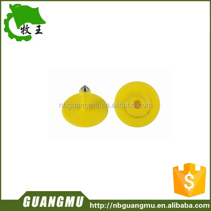 cow/pig farm equipment ear tag with 28 mm od