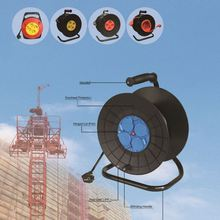 cable reel fix panel untwisted electric wire reel CE approved 50m