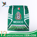 2018 Russia World Cup backpack polyester drawstring bag Mexico drawstring mesh bag