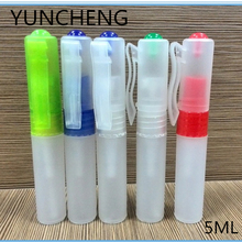 5ml plastic small hand sanitizer perfume pen stick