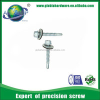Hex self drilling screw zinc phosphide/ plated screw