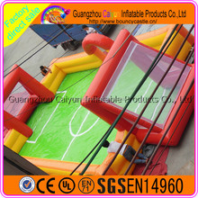 2017 Hot sale Portable inflatable field Soap soccer playground
