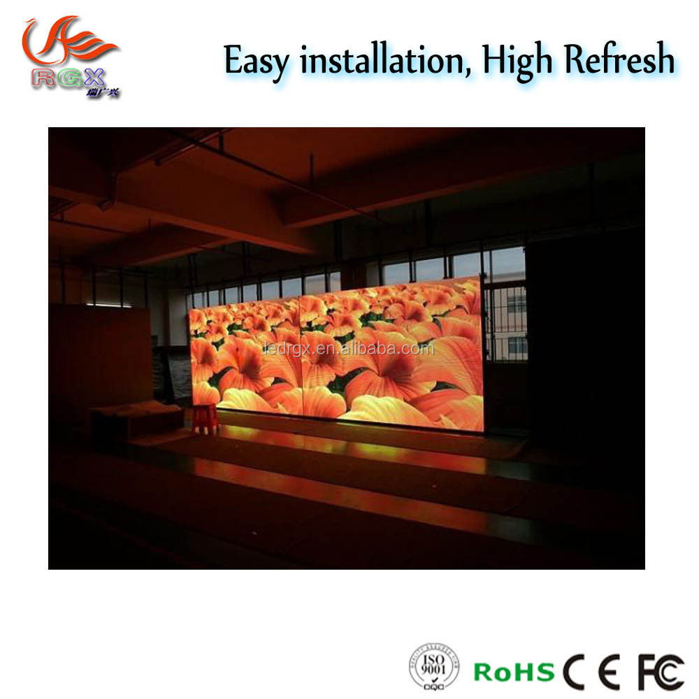 Metal Cabinet Marketplace Outdoor Full Color P6 P5 Led Display with Long Life Span