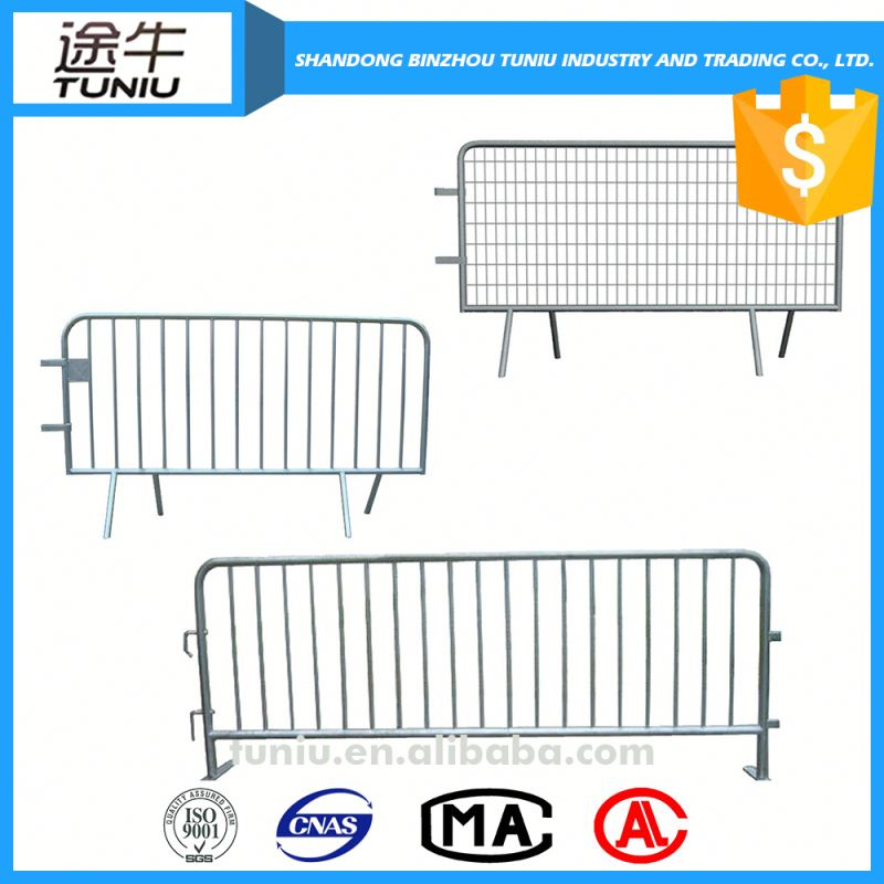 portable crowd control barricade barrier fence factory