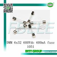 DMM 6x32 600Vdc 600mA fuse 1051