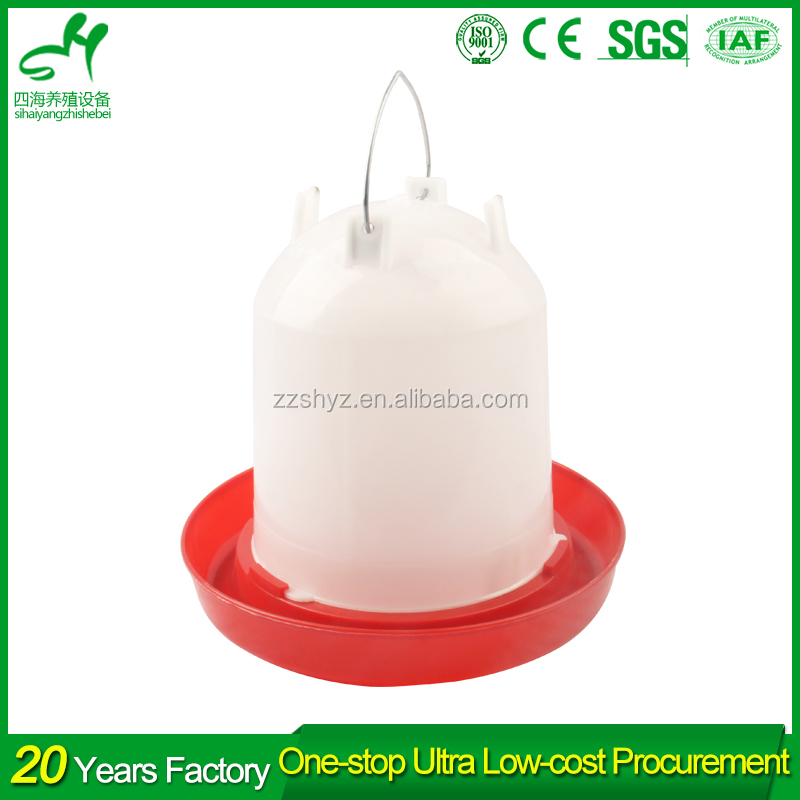 Factory Price 1-10L Plastic Automatic Poultry Chicken Drinking Water Troughs For Hen