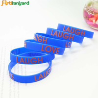 Professional Simple Silicone Promotional Sport Bracelet