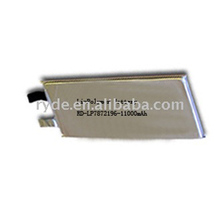 3.7v 10Ah Li-polymer battery cell rechargeable with high capacity
