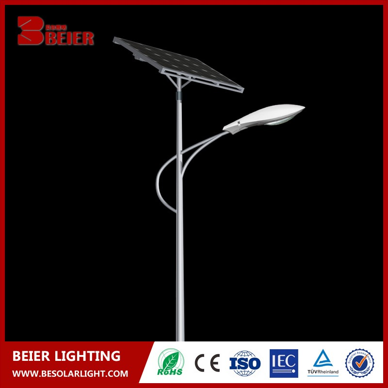 Beier Power garden Solar Street Lamp shade With High Quality for outdoor