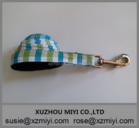 Hot Sell Pet Accessories Green Plaid Dog Leash Dog Pet Lead Wholesale