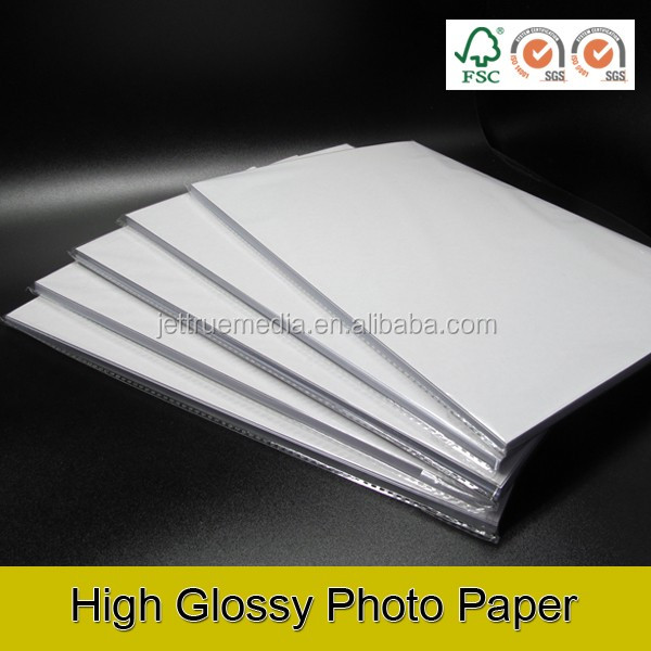 260g Single Side Glossy photo paper A4 SIZE