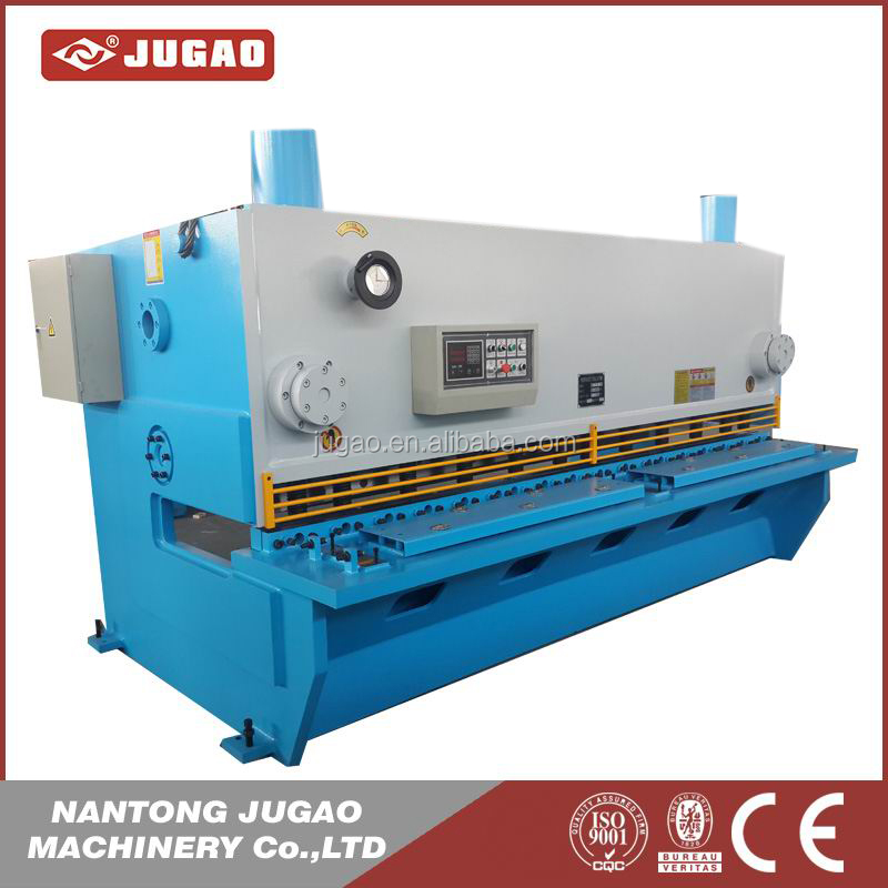 6m cnc hydraulic plate cutting machine 1.75shear angle metal shearing machine used aluminum plate cutter for sale
