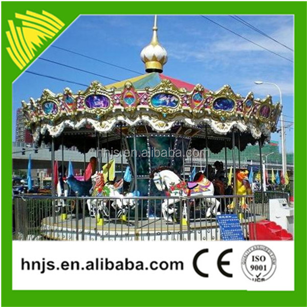 Top brand theme park rides carousel horse wholesale