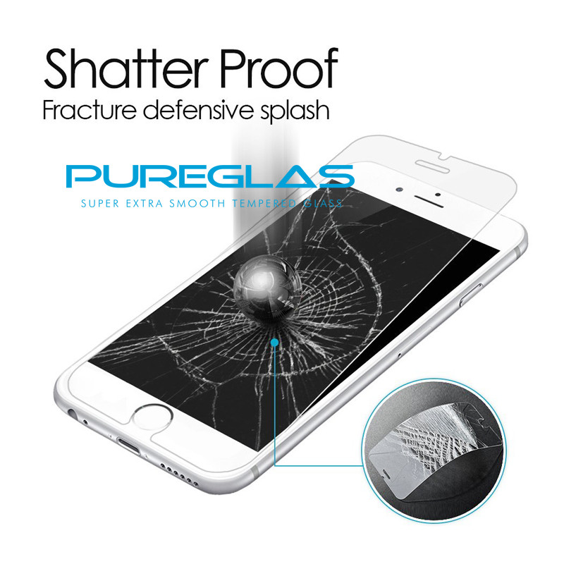 China Supplier Nano Olephobic Coating Premium Screen Guard Glass Protector for Iphone 7