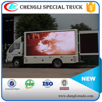 FOTON Forland 4*2 P6 RHD Liftable Led Mobile Display Truck Campaign Van