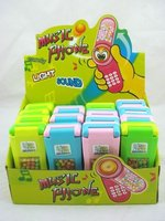 musical mobile candy toy