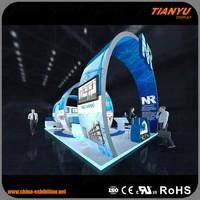 9x4m Advertising Ideas Booth Stand Exhibition Modular Trade Show Circular Display