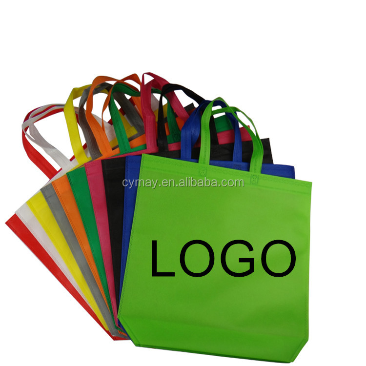 Hot selling custom print logo cheap laminated non woven tote bag